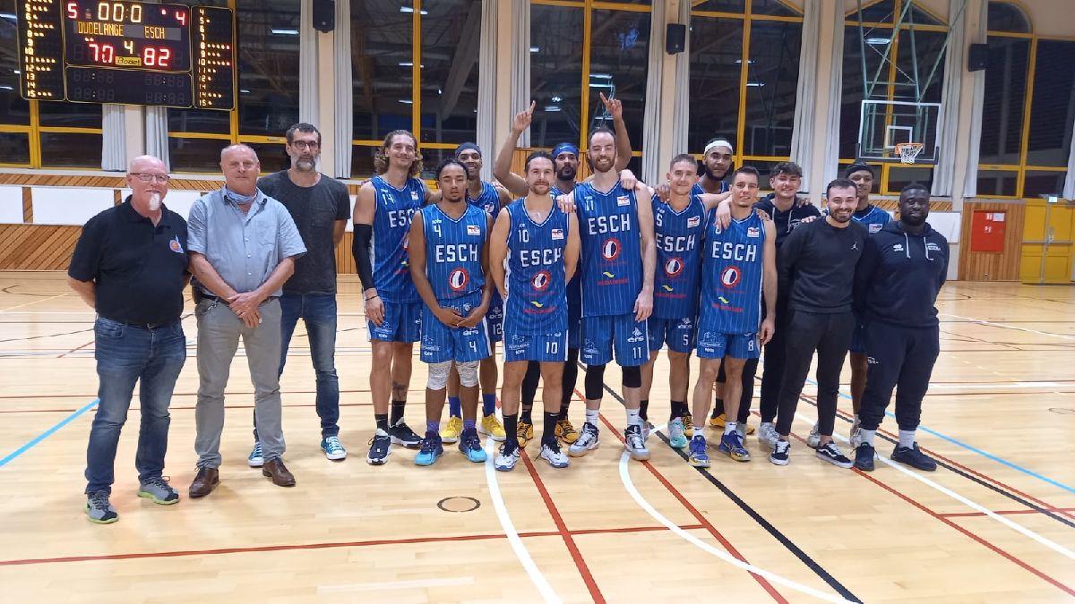 Basket Esch: Gagnant du Supercup 2021 contre T71