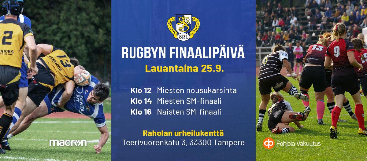 Rugbyn finaalipäivä 25.9.