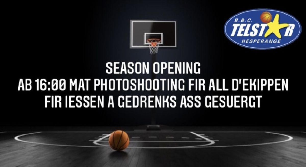Season Opening den 26.09.2021