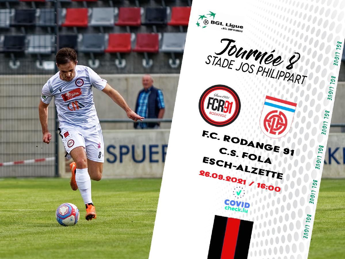 FC Rodange 91 - C.S. Fola Esch-Alzette