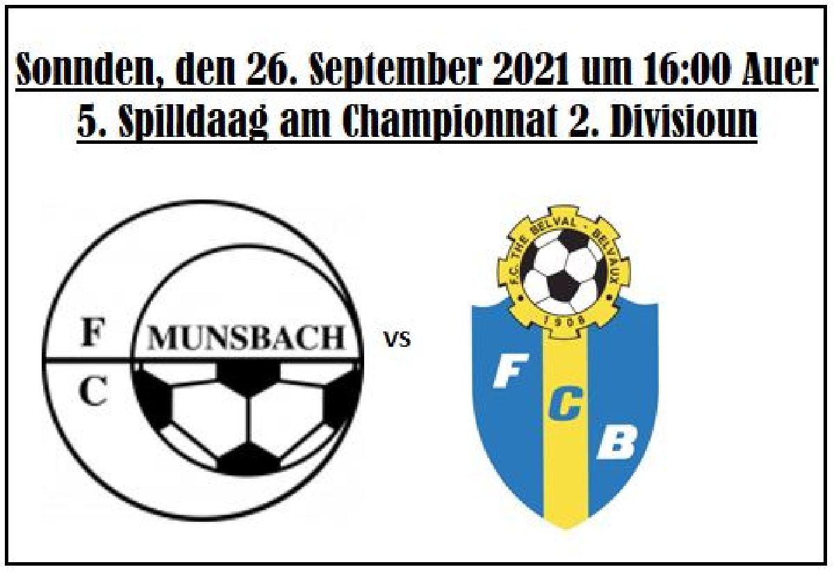 FC Munsbach - FC The Belval Bieles Liveticker