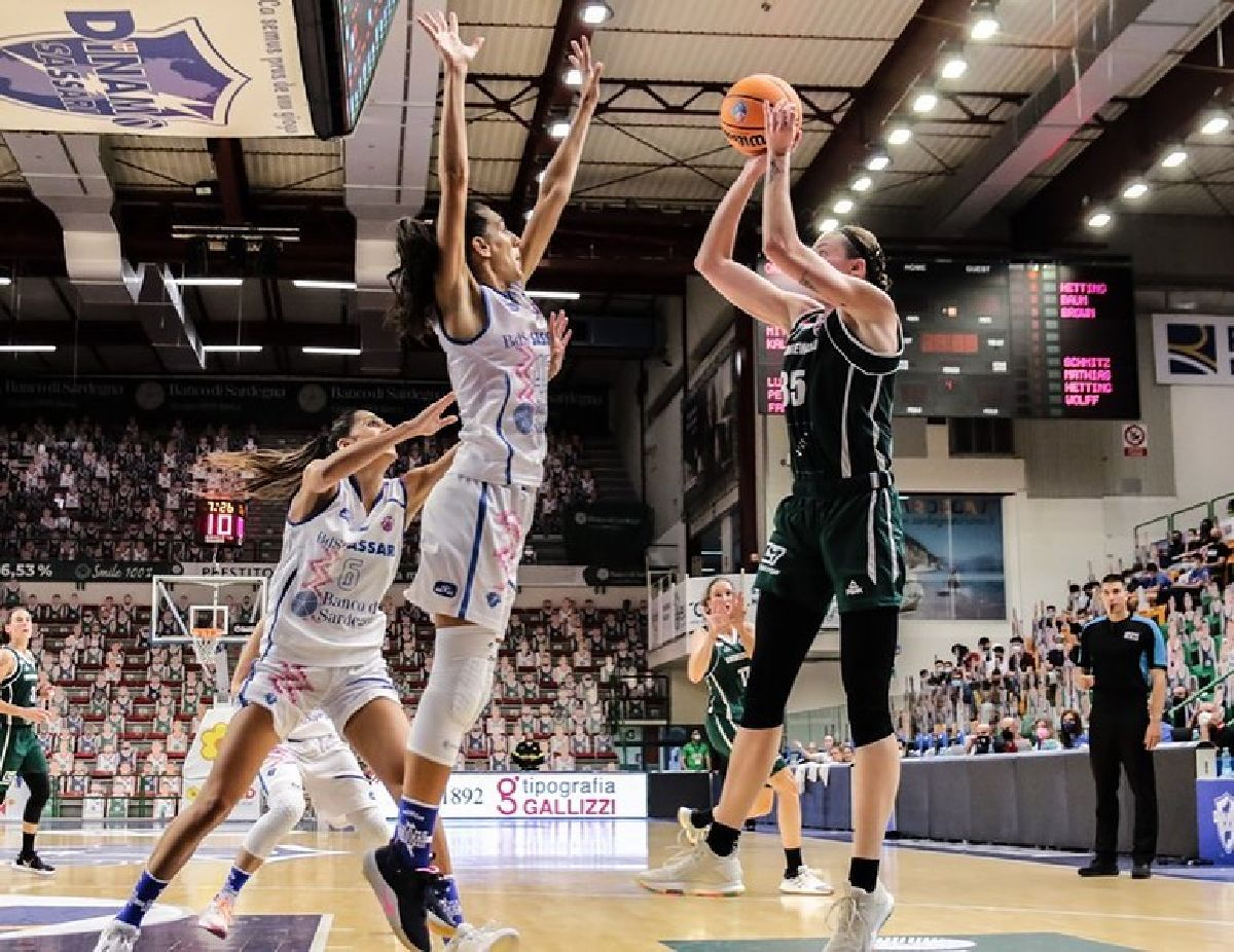 First Eurocup Game played for the Greens