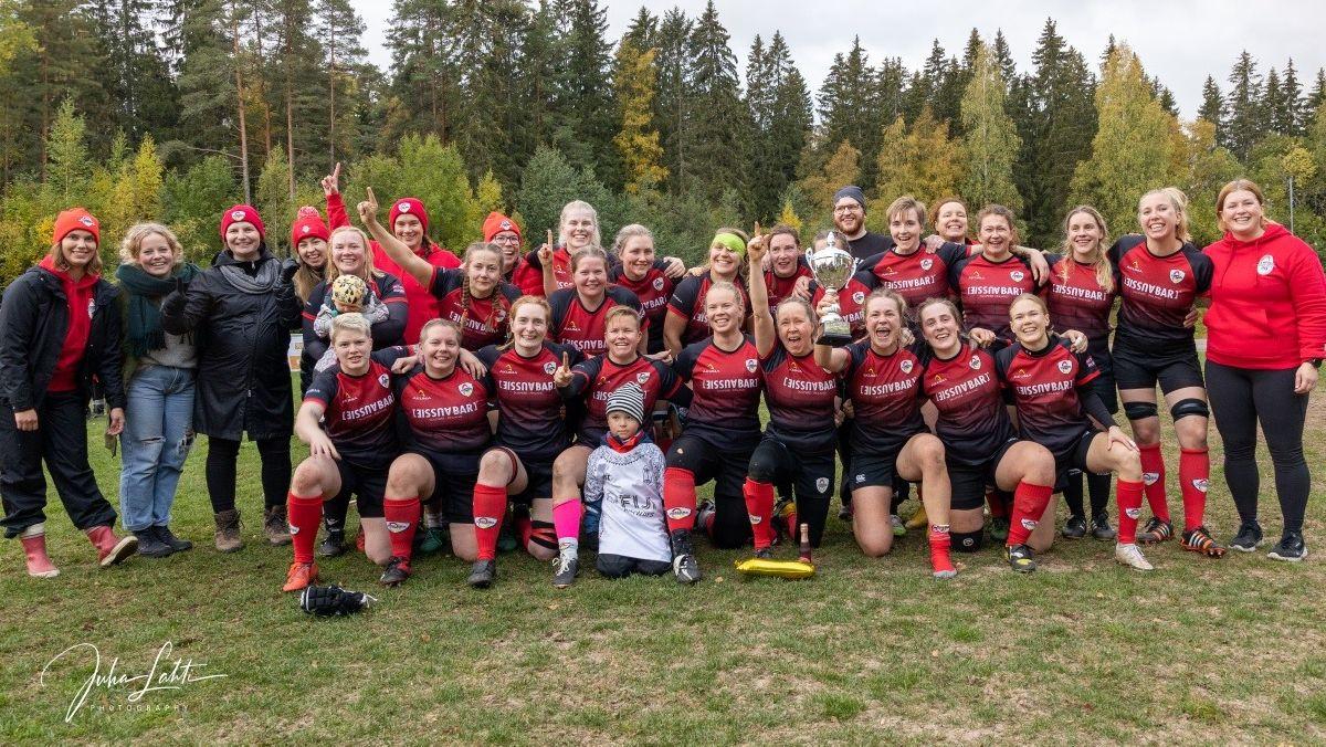 Tampere RC ja Helsinki RC juhlivat vuoden 2021 Suomen mestaruutta