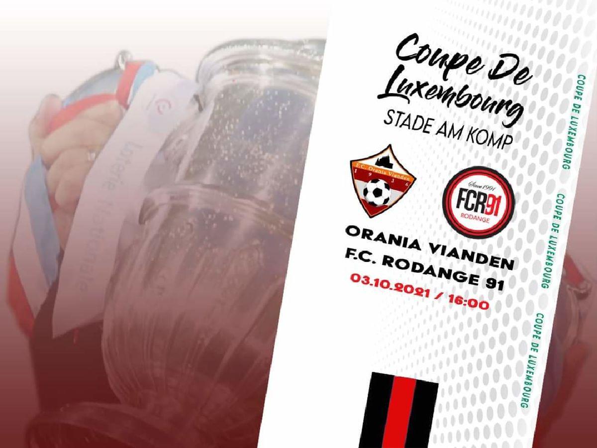 Orania Vianden - F.C. Rodange 91