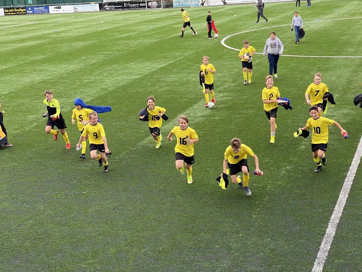 Eis Minimes gewannen 7-0 géngt Beggen