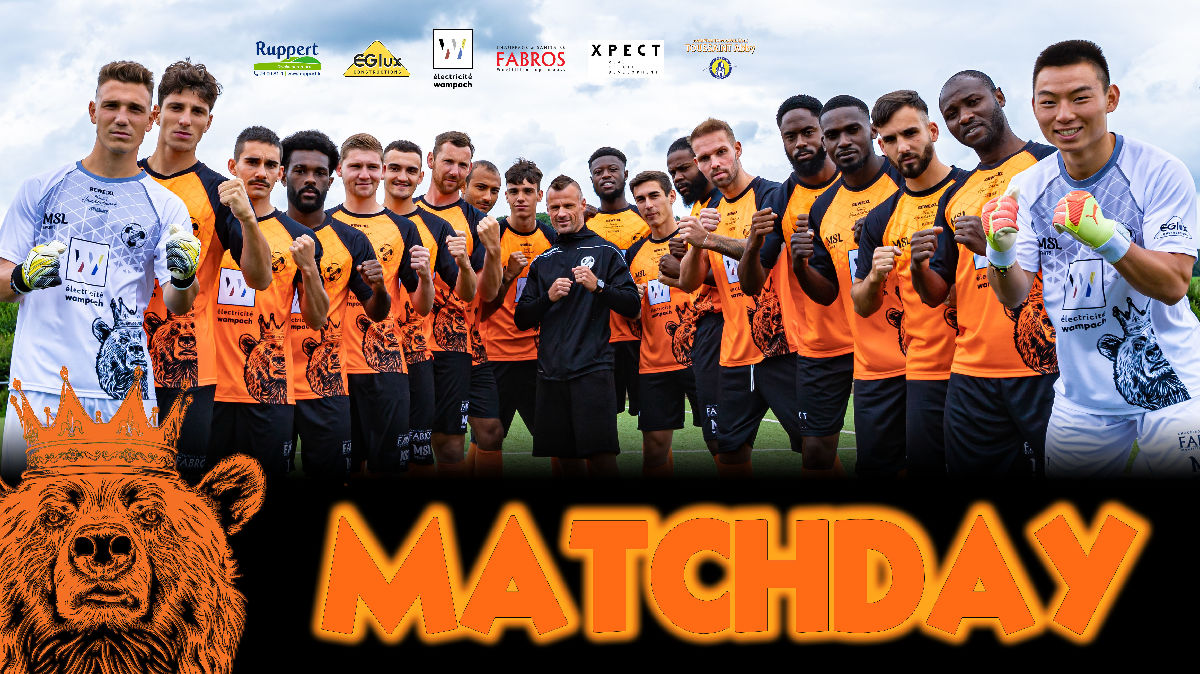 MATCHDAY! COUPE DE LUXEMBOURG!
