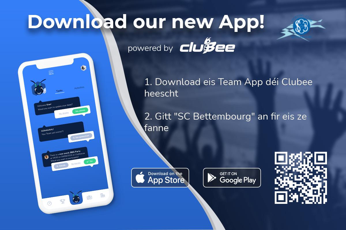 Nouvelle App Clubee !