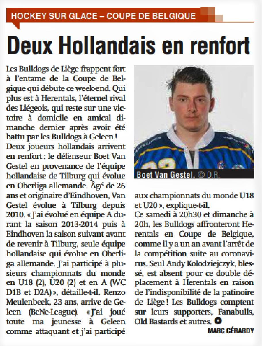 Revue de presse - La Meuse 09 octobre 2021