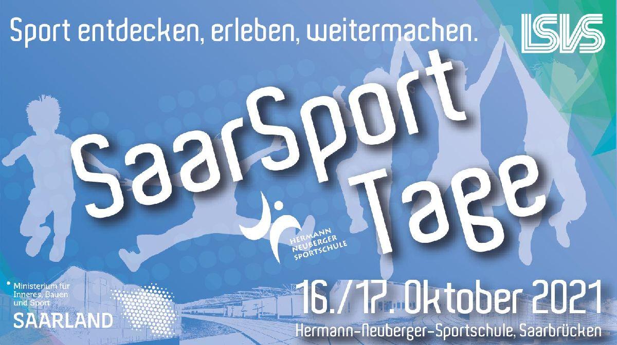 Einladung zu den Saar-Sport-Tagen am Wochenende vom 16./17. Oktober