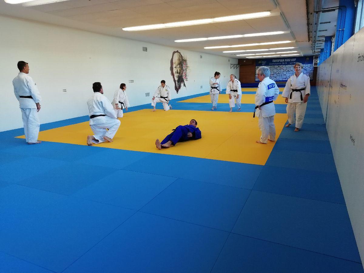 Kata-Workshop an der Sportschule Saarbrücken
