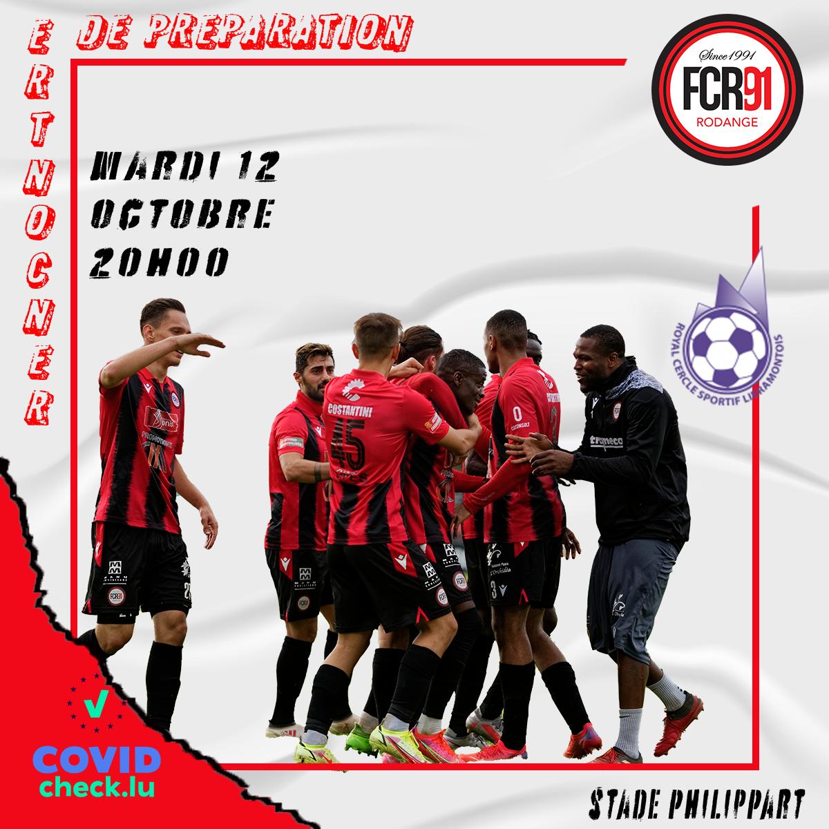 FC Rodange 91 - R.C.S. Libramontois