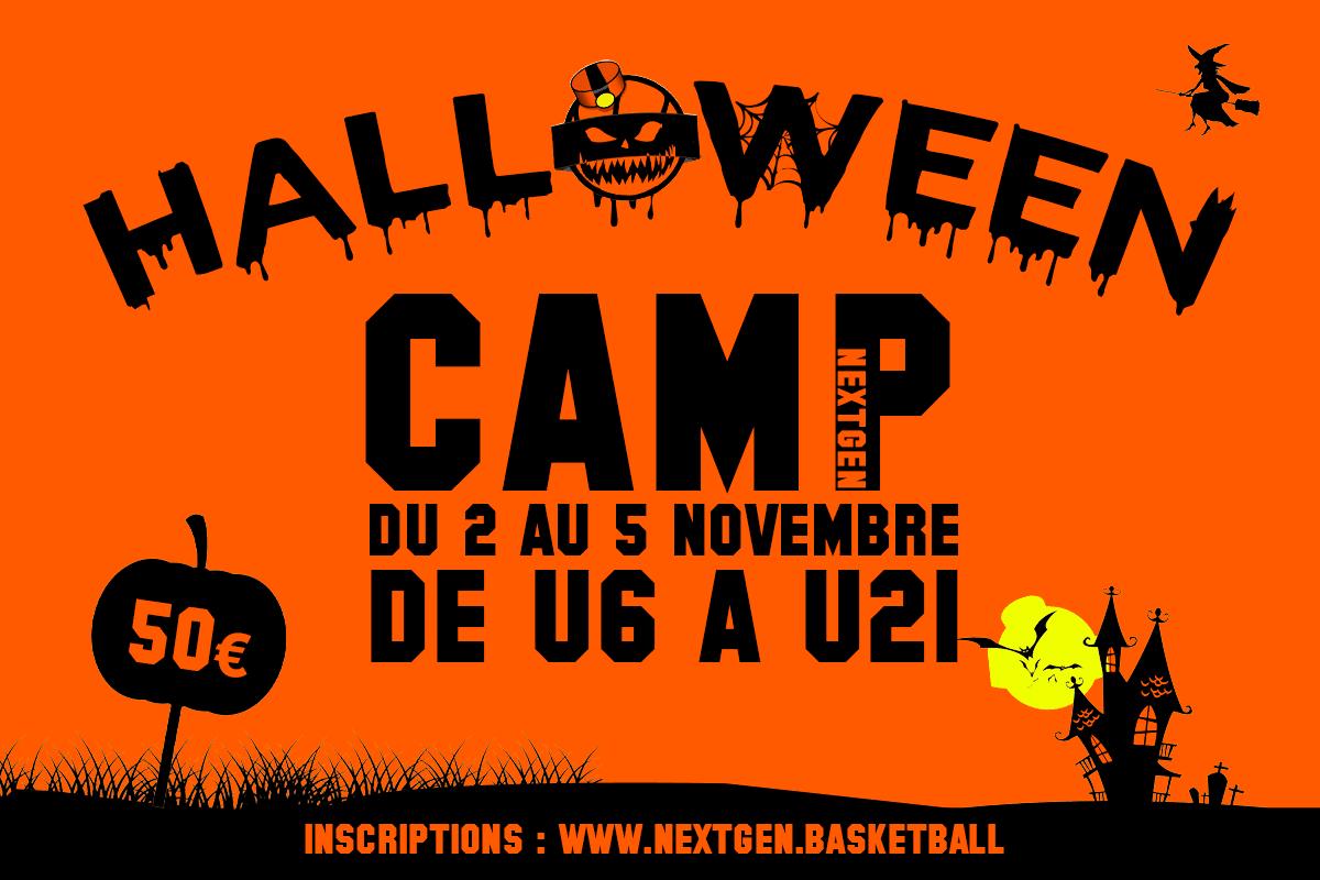 Ne manquez pas le Halloween Camp !