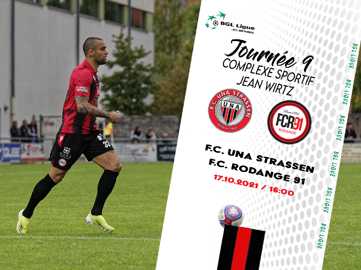 F. C. Una Strassen - FC Rodange 91