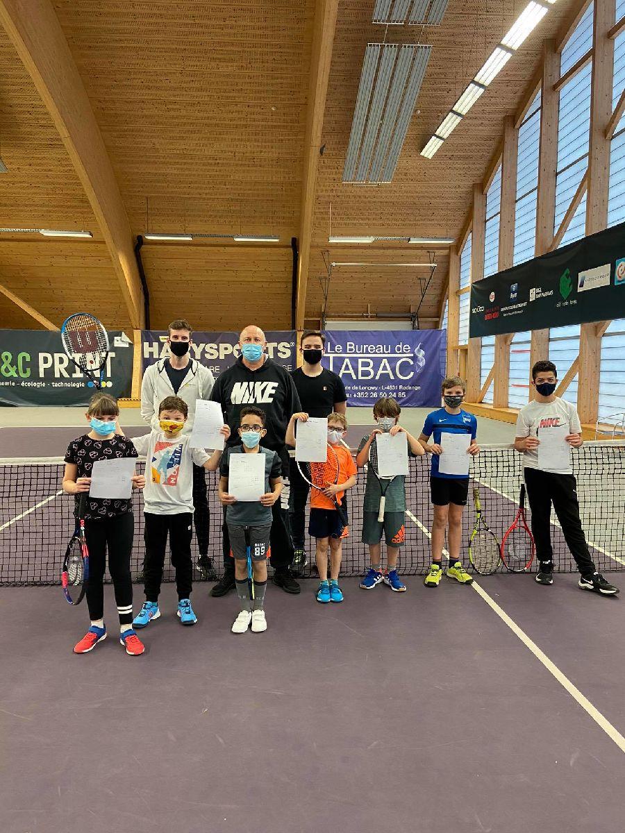 Ecole de tennis -des places encore libres