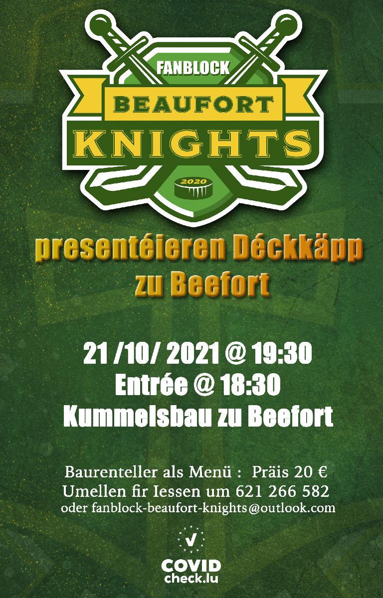 Knights Fanblock