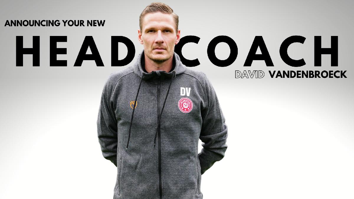 NEW HEAD COACH - DAVID VANDENBROECK