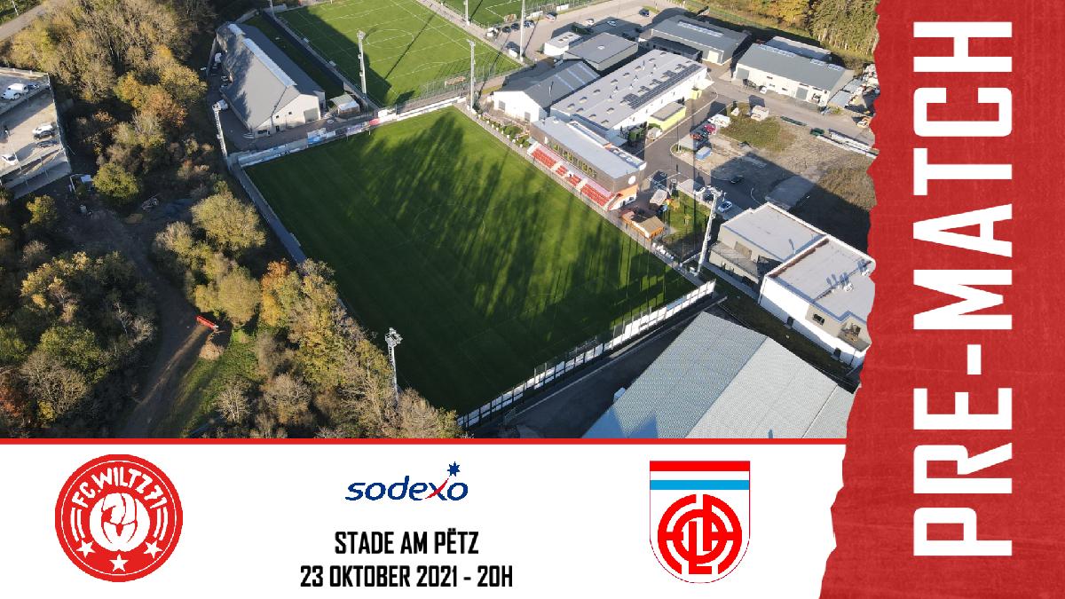 Stadionzeitung: FC WILTZ 71 vs FOLA ESCH