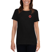 Image of Ladies T-Shirt Red Girls