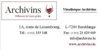 Vinothèque Archivins