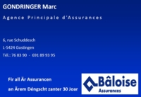 BÂLOISE Assurances - Marc Gondringer / Gostingen