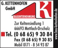 Bauunternehmung Günter Kettenhofen GmbH