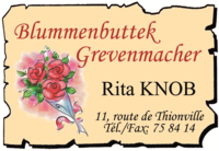 Blummebuttek Grevenmacher Rita Knob