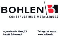 BOHLEN CONSTRUCTIONS METALLIQUES