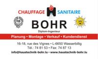 Bohr - Chauffage/Sanitaire