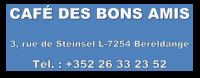 Café des Bons Amis - Chez Alice Bogas