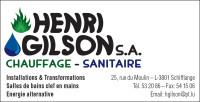 Chauffage-Sanitaire Henri Gilson