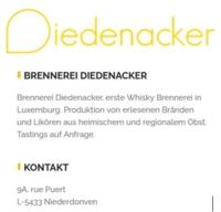 DIEDENACKER Brennerei / Niederdonven