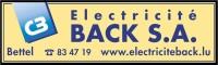 Electricité Back SA
