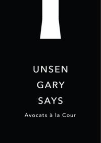 Etude Unsen Gary Says