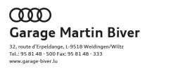 Garage Martin Biver sàrl.