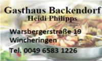 Gasthaus Backendorf Beim Heidi / Wincheringen