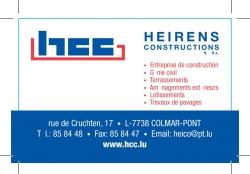 HCC anc. HEIRENS Constructions s.àr.l.