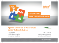 Assurances LALUX - Agence Santer & Bruck / Grevenmacher