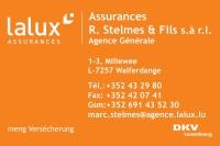 Lalux Assurances - Agences Générale R. Stelmes