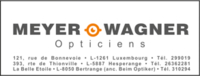 MEYER - WAGNER OPTICIENS