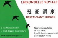 Restaurant L'Hirondelle Royale