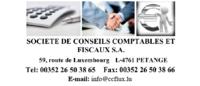 SOCIETE DE CONSEILS COMPTABLES ET FISCAUX S.A.