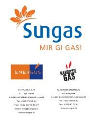 SUNGAS + ENERGUS