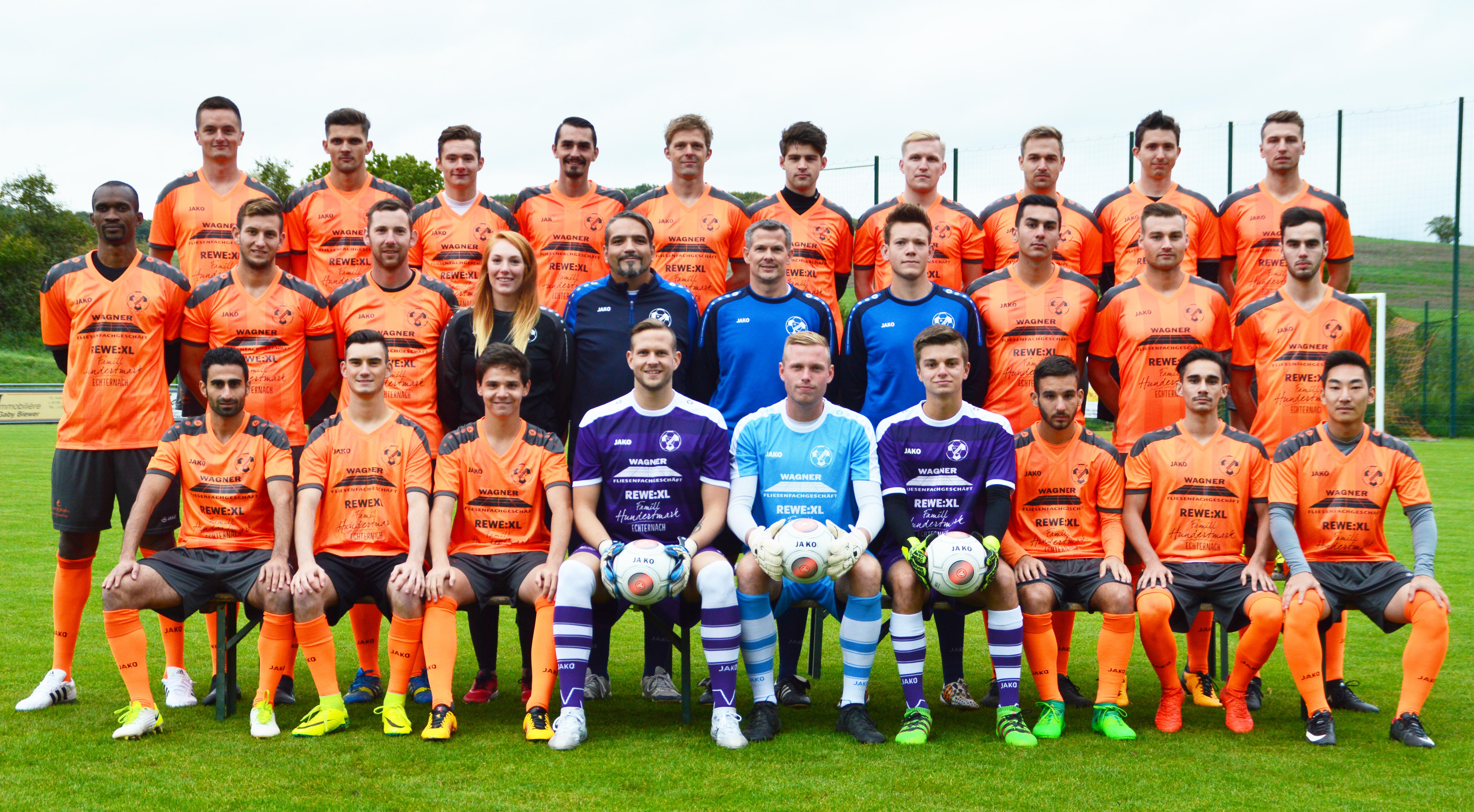 FC Berdenia Berbourg Teamphoto