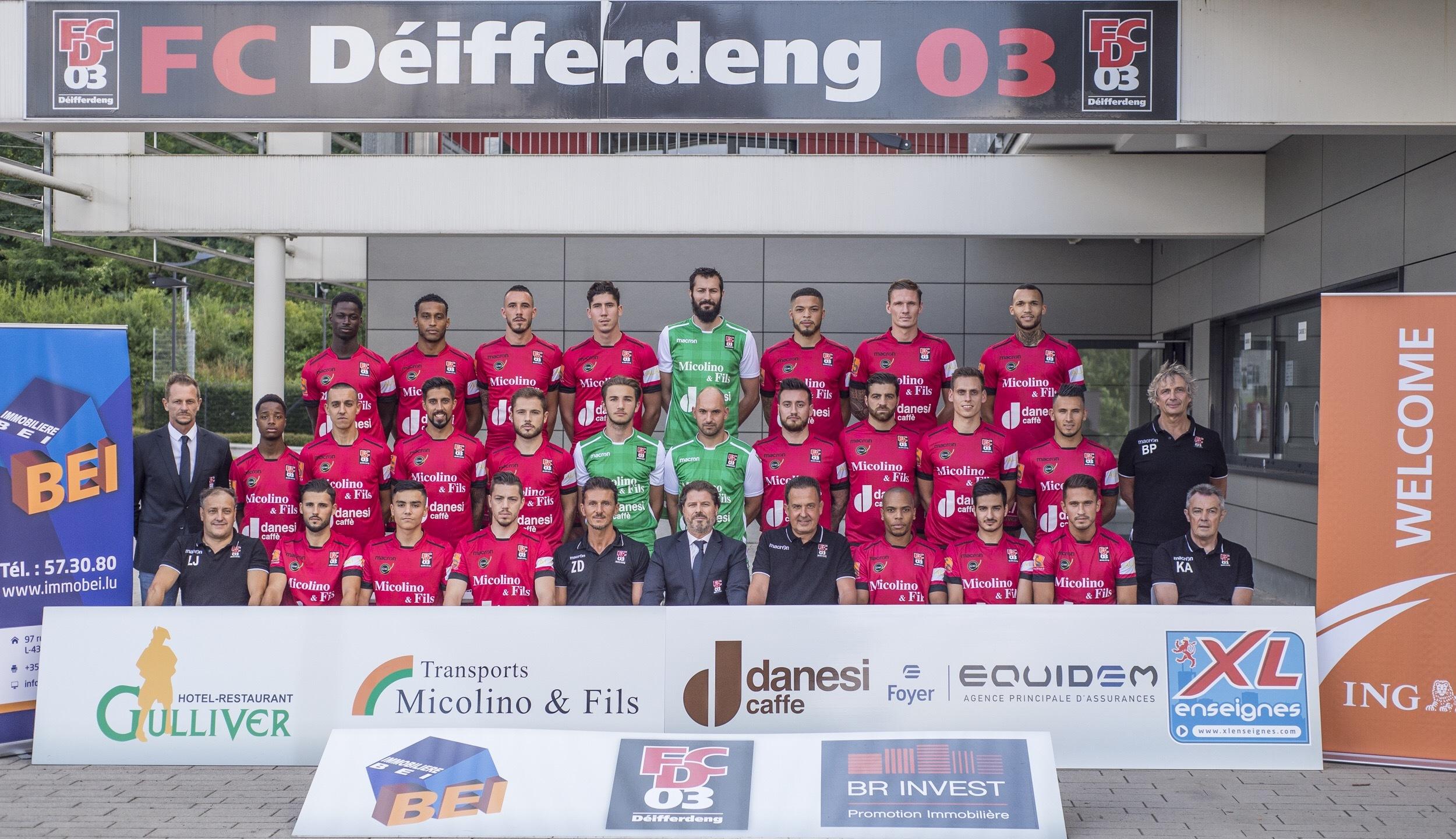 FC Déifferdéng 03 Teamphoto