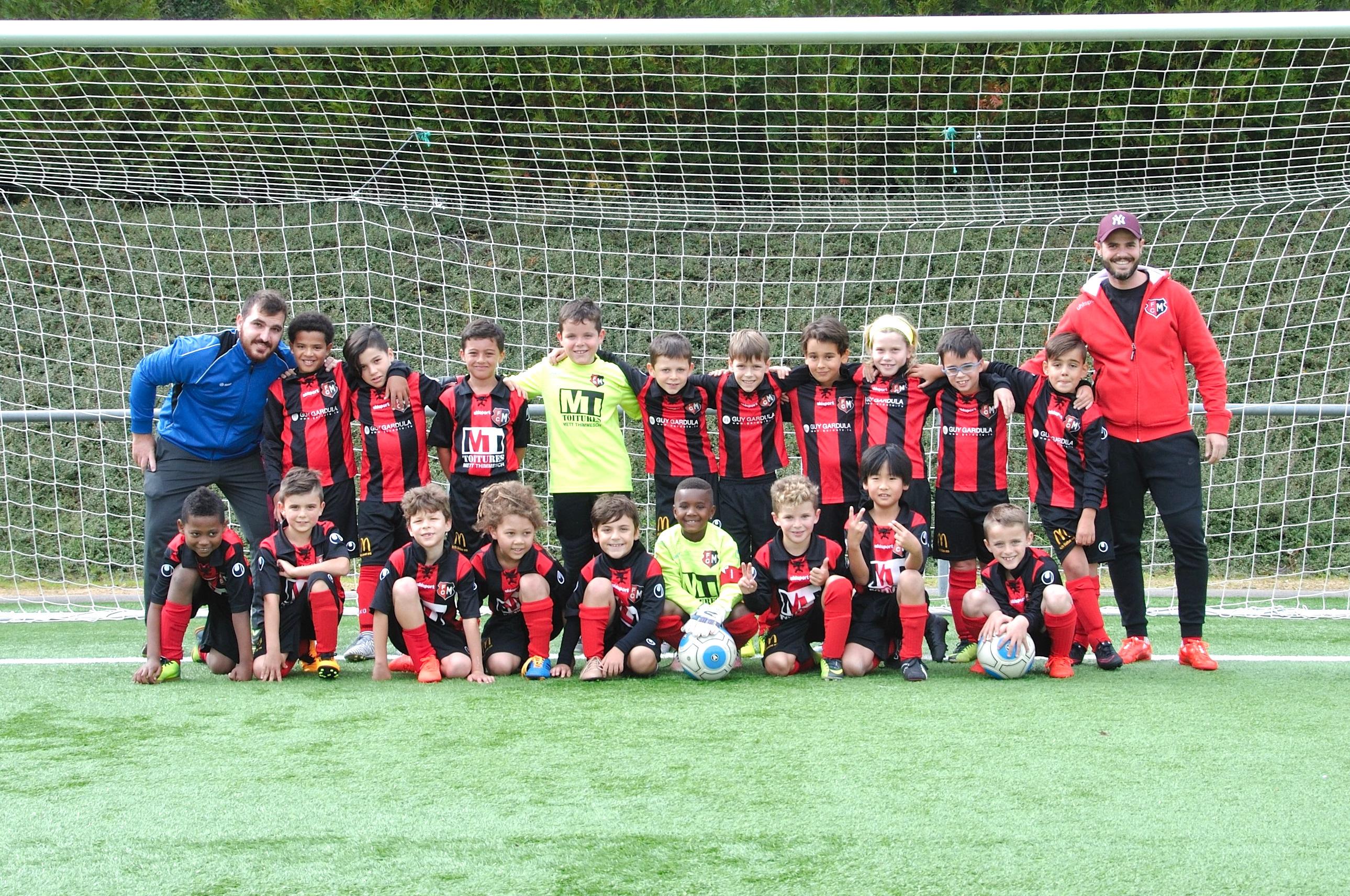 FC Mondercange Teamphoto