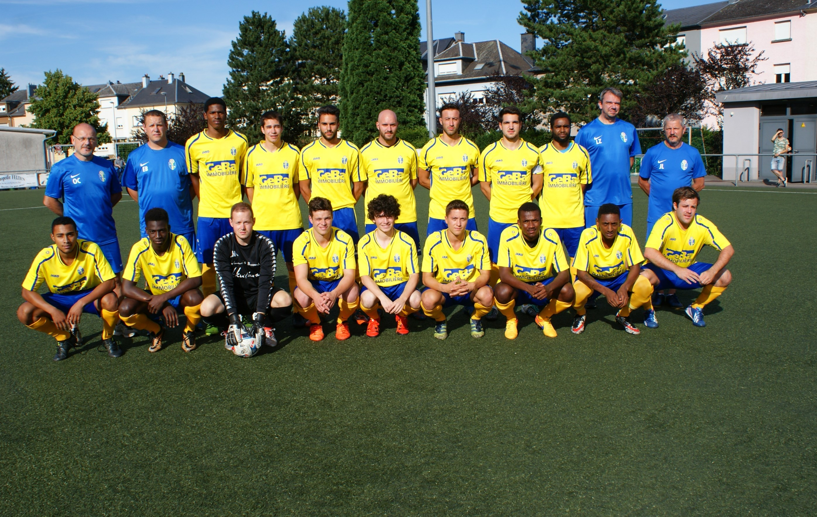 FC The Belval Belvaux Teamphoto